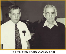 Paul and John Cavanagh