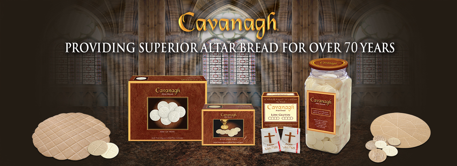 Welcome to Cavanagh Altar Bread